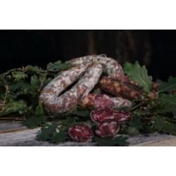 SALSICCIA SECCA di suino nero dei Neb. con Finocchietto Selvatico stag. 30gg-400gr circa