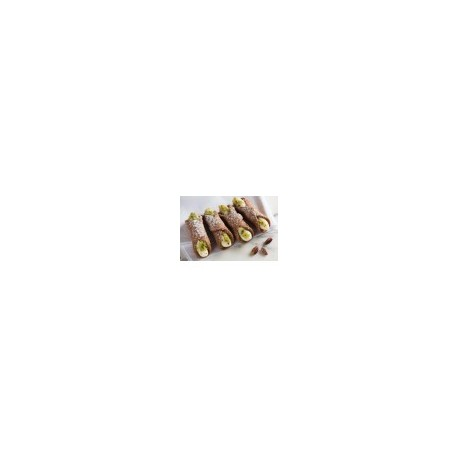 Cannoli siciliani (25 pz) formato mignon