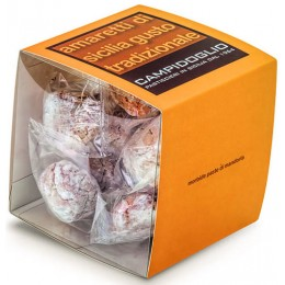 Amaretti di Sicilia al Mandarino - CUBO da 470 g (16 pz)