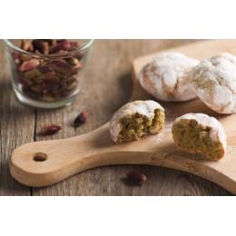 Amaretti sfusi al pistacchio di Sicilia  kg. 1,00